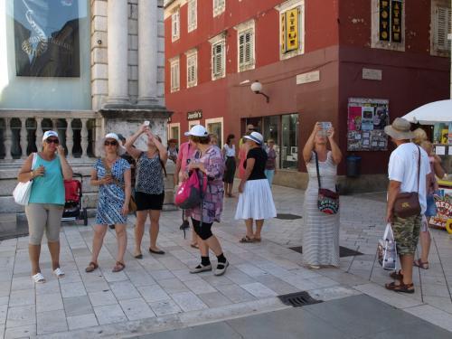 Zadari városnézés