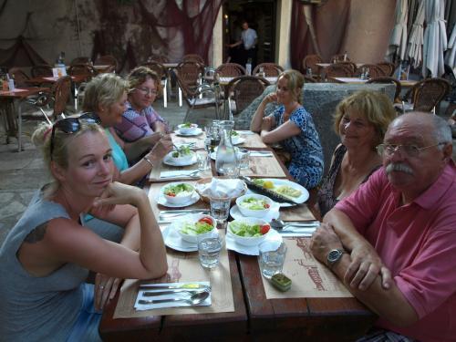 Vacsora Zadarban