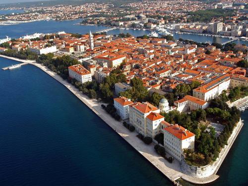 Zadar látképe