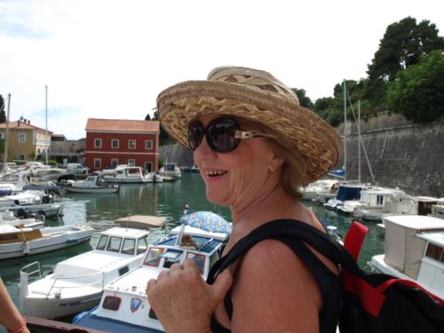 Városnézés Zadarban